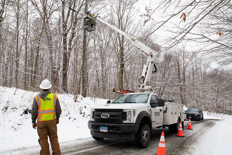 Connecting Fiber Broadband in Becket, MA