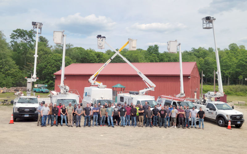 Sertex Broadband Crews Participate in an Annual Safety Seminar with Classroom and Proactive Hands-On OSHA Training