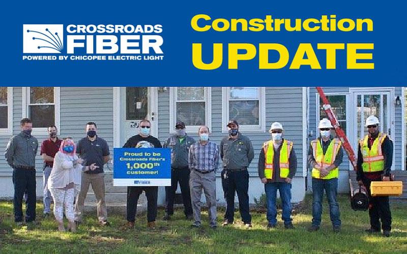 Sertex Crews Bring Fiber Broadband to Chicopee, MA
